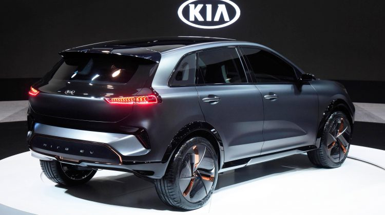 Kia dezvăluie primele imagini ale modelului 100% electric Niro EV