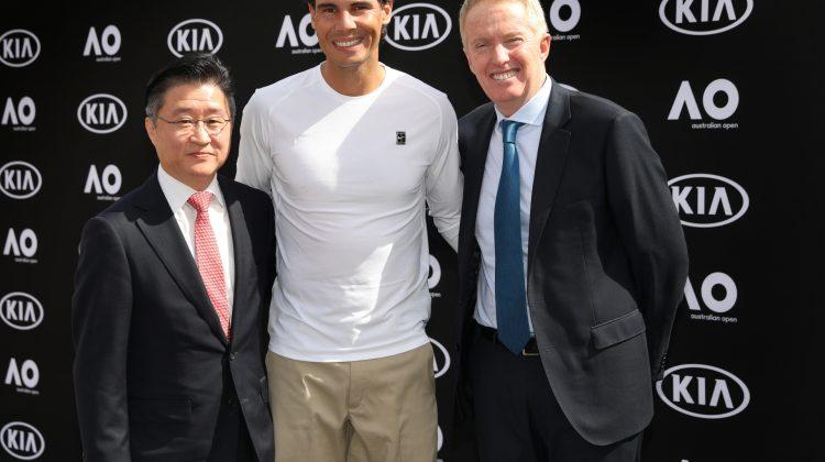 Kia a livrat flota de automobile pentru turneul de tenis Australian Open 2019